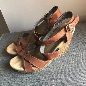 ⭐️3/$25 Dr. Scholl's Criss Cross Wedge Sandals